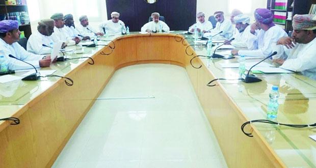 لجنة الأمن الغذائي بفرع الغرفة بالداخلية تعقد اجتماعها الثالث