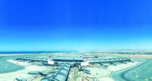 """""""النقل والاتصالات"""" تقرر مستوى """"المطارات المثالية"""" لمشروع مطار مسقط"""
