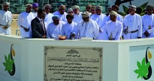 وضع حجر الأساس لمصفاة إنتاج حامض السيباسك بالدقم .. ومرحلتها الأولى بتكلفة 24 مليون ريال عماني
