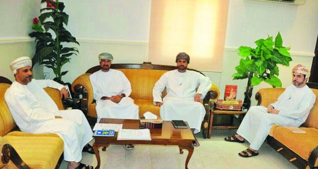 اجتماع اللجنة الرئيسية لانتخابات المجالس البلدية بعبري