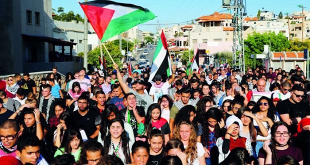 الفلسطينيون يتعهدون بالاستمرار فـي سباق البناء والإعمار