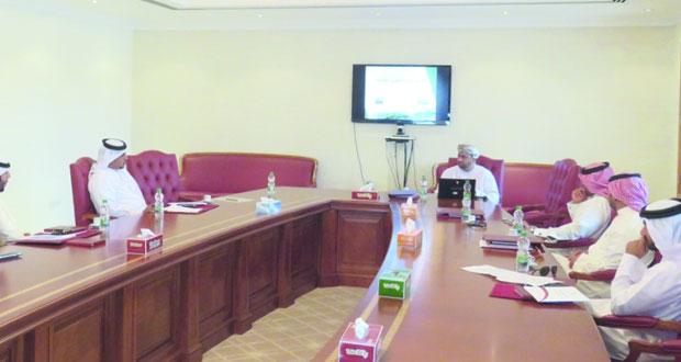 وفد من هيئة التشريع والإفتاء القانوني بالبحرين يزور الشؤون القانونية