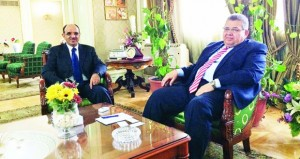 وكيل التعليم العالي يبحث تعزيز التعاون العلمي بين السلطنة و مصر