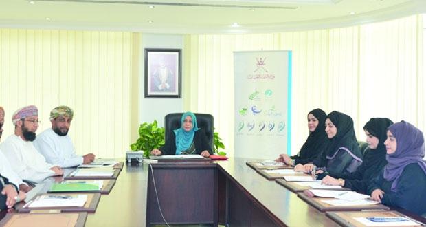 اجتماع الأمانة الفنية للجنة الوطنية لشؤون الأسرة
