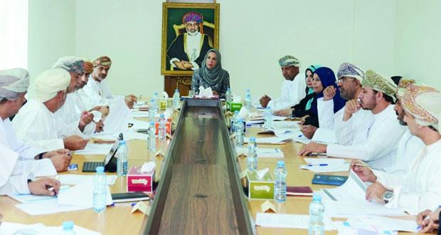 وزيرة التربية والتعليم تترأس اجتماع اللجنة الرئيسية للسياسات التربوية وتطوير التعليم