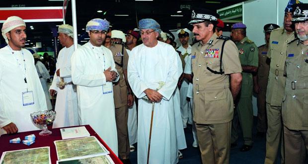 افتتاح معرض السلامة المرورية بمركز عمان الدولي للمعارض