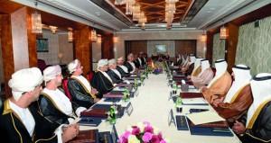 بدء اعمال اجتماع اللجنة العليا العمانية ـ الاماراتية المشتركة في دورتها الثامنة عشرة بمسقط