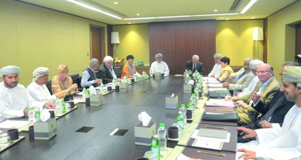 اجتماع اللجنة الاستشارية الدولية لمجلس البحث العلمي