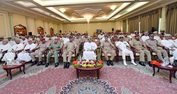 قوات السلطان المسلحة تنظم ندوة السكك الحديدية ودورها في التنمية والمساهمة في العمليات العسكرية