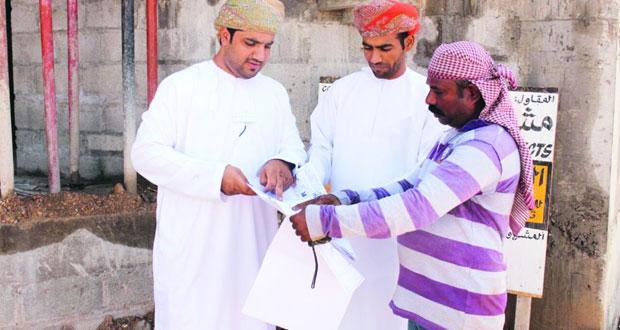 البلديات الإقليمية تنفذ حملة توعوية للتخلص من مخلفات البناء