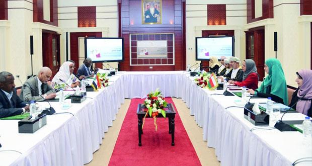جلسة مباحثات بين السلطنة والسودان في المجالات التربوية