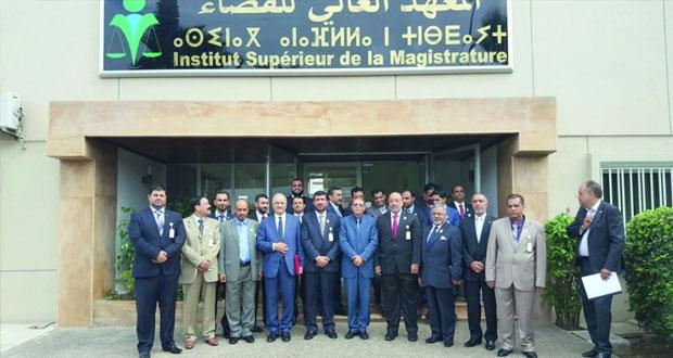 جمعية المحامين العمانية تختتم رحلتها القانونية للمغرب