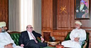 وزير العدل يستقبل رئيس المركز العربي للبحوث القانونية والقضائية