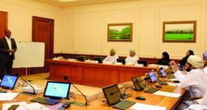"""مجلس الدولة ينظم البرنامج التدريبي """"تقييم أثر التشريعات """""""