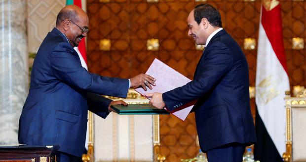 مصر: السيسي والبشير يوقعان وثيقة شراكة استراتيجية