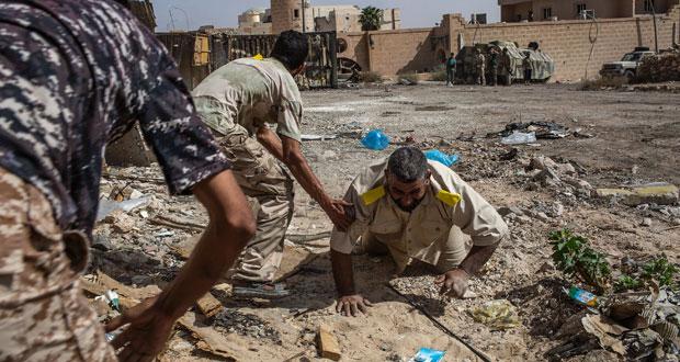 قوات الوفاق الليبية تعلن مقتل 80 إرهابيا في معركة سرت