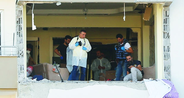 مقتل 3 من الأمن في تفجير انتحاري جنوب تركيا