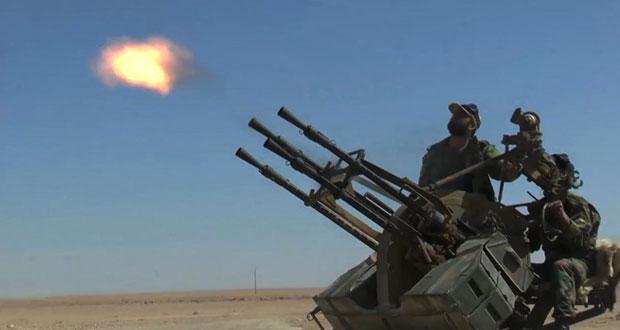 سوريا: عمليات للجيش تقضي على ارهابيين بدير الزور وريف السويداء وتدمر تحصيناتهم بحلب