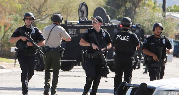 مقتل شرطيين وإصابة ثالث بالرصاص في كاليفورنيا