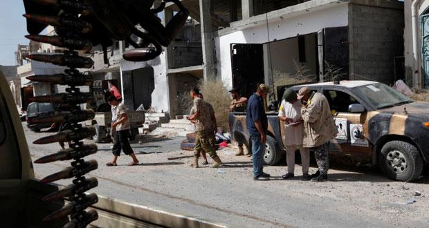 ليبيا: أميركا تكثف غاراتها على (داعش) بسرت وقوات الوفاق تؤكد قرب استعادتها بالكامل