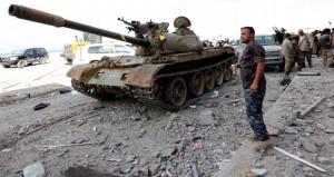 قوات الوفاق الليبية تتقدم في سرت وغارات أميركية تستهدف الإرهابيين