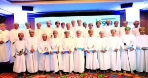 وزارة الشؤون الرياضية تحتفل بتقديم الدعم المقدم من شركة النفط العُمانية للتسويق للأندية