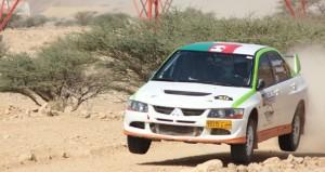 خمسة متسابقين عمانيين يتنافسون بقوة في فعاليات رالي الشارقة
