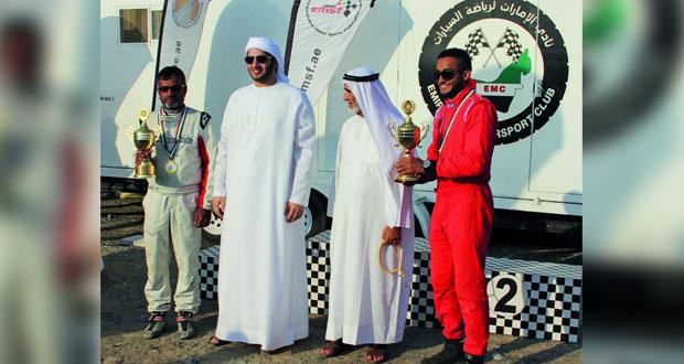في رالي الإمارات : خالد صومار يحقق المركز الثالث في أولى مشاركاته القاسمي رابعاً والراشدي خامساً والوائلي يخرج بعد تعرض سيارته لحادث