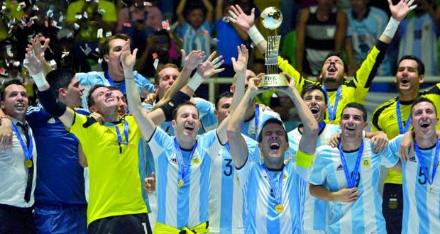 في مونديال 2016 لكرة الصالات: الأرجنتين تحرز اللقب على حساب روسيا