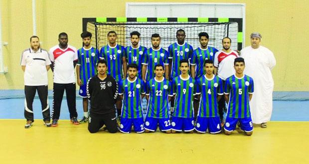 اليوم ختام دوري الشباب لكرة اليد بين فريقي أهلي سداب والسيب
