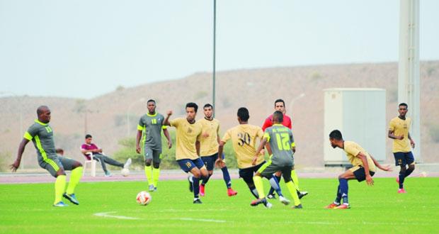 منتخبنا العسكري يكسب نادي الشباب استعداداً لبطولة كأس العالم العسكرية الثانية للقدم لعام 2017م