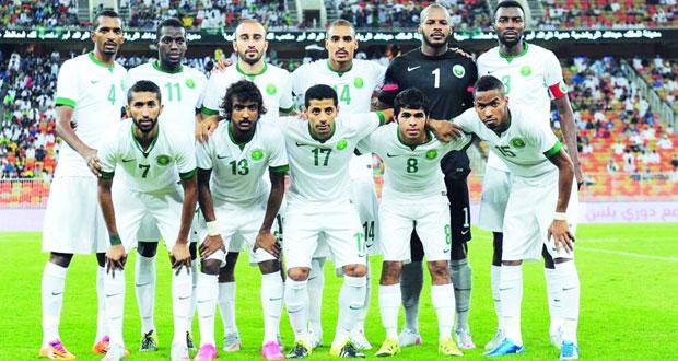 المنتخب السعودي يواصل تدريباته استعدادا لمواجهة نظيره الإماراتي في تصفيات المونديال