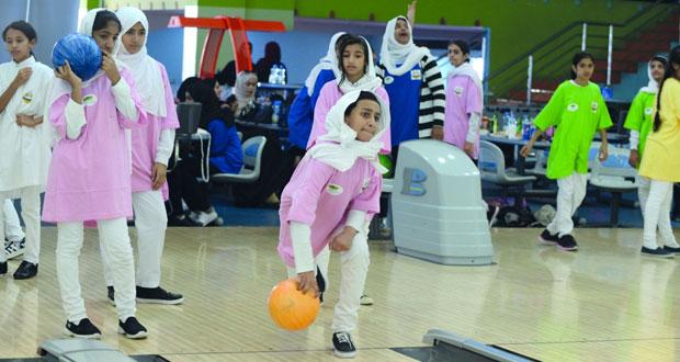 ختام بطولة مدرسة عبيدة بنت مسلم للبولينج
