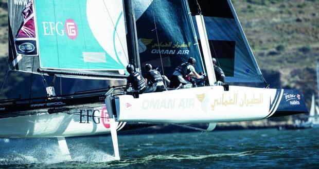 قارب الطيران العُماني يحتل المركز الرابع ويحتفظ بصدارة الترتيب العام للبطولة