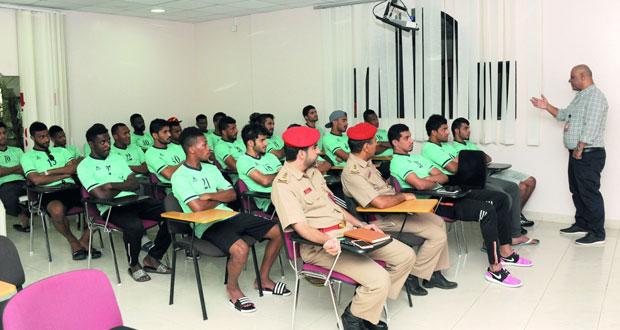 منتخب عمان العسكري لكرة القدم ينظم معسكرا تدريبيا داخليا