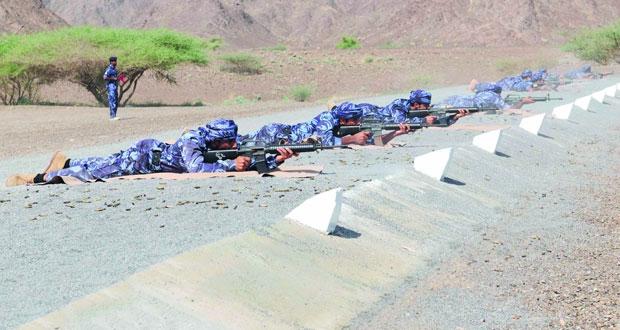 انطلاق بطولة شرطة عمان السلطانية للرماية لعام 2016م