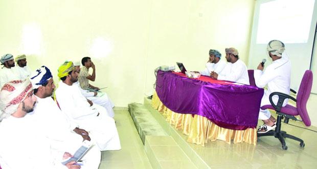 سحب قرعة دوري عمان للمدارس بمحافظة الوسطى