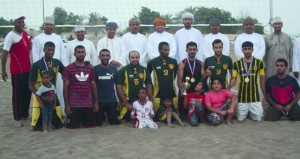 ختام بطولة الكرة الطائرة الشاطئية بالخابورة