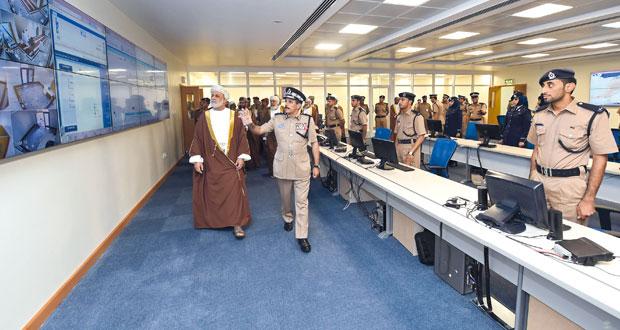 افتتاح قيادة شرطة الداخلية وتخريج مستجدين