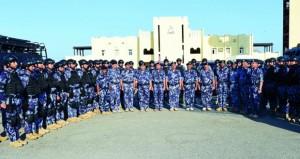 شرطة عمان السلطانية تشارك في (أمن الخليج العربي1)