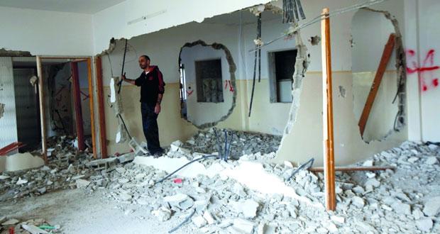الاحتلال يفتح النار .. والفلسطينيون يستعدون لـ(الجنائية الدولية)