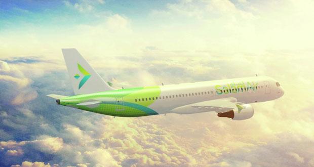 «طيران السلام» يكشف عن هويته التسويقية .. وصلالة أولى الخطوط