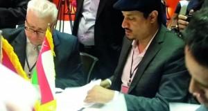 التوقيع على مذكرة تفاهم لممثلي المسرح لبلدان غرب آسيا وشمال أفريقيا بمشاركة عمانية