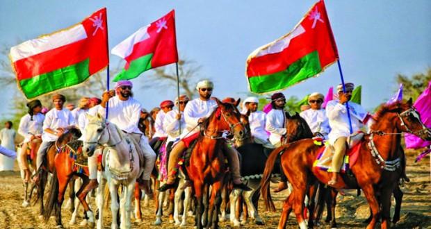 أفراح العيد الوطني المجيد مستمرة داخل السلطنة وخارجها