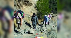 فريق المشي الجبلي العماني ينظم مسير بمشاركة 20 مشاركا من دول الخليج العربي بمناسبة العيد الوطني الـ 46