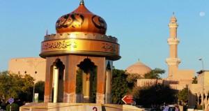 """تدشين المجسم التذاكري لـ """"نـزوى عاصمة الثقافة الإسلامية 2015م"""""""