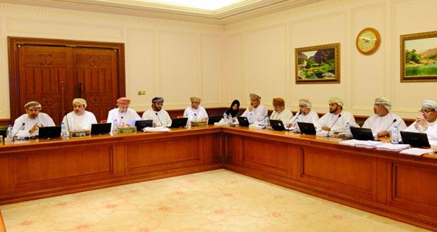 اللجنة الاقتصادية الموسعة بـ (الدولة) ترفع تقريرها حول الموازنة العامة لمكتب المجلس