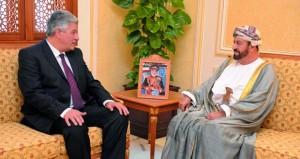 الوزير المسؤول عن شؤون الدفاع يستقبل سفيري مصر وسريلانكا