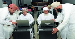 مجلس الشؤون الإدارية للقضاء يدشن خدمة المراسلات والعمل المكتبي الالكتروني