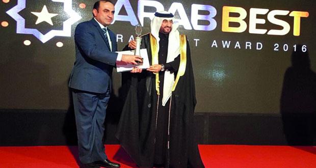 الجمعية العُمانية للسيارات تحصد جائزة أفضل اتحاد رياضي عربي للسيارات لعام 2016